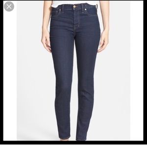 "Madewell 10"" high riser skinny skinny jeans Sz 29"